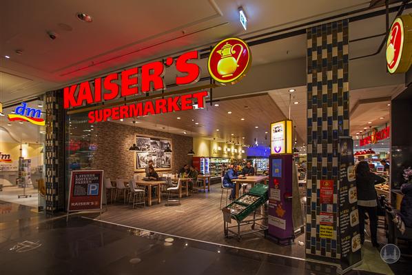 Kaiser's - Filiale in der Mall of Berlin.