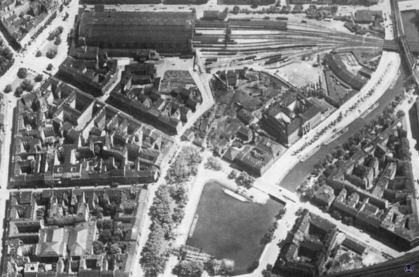 Luftaufnahme von 1920