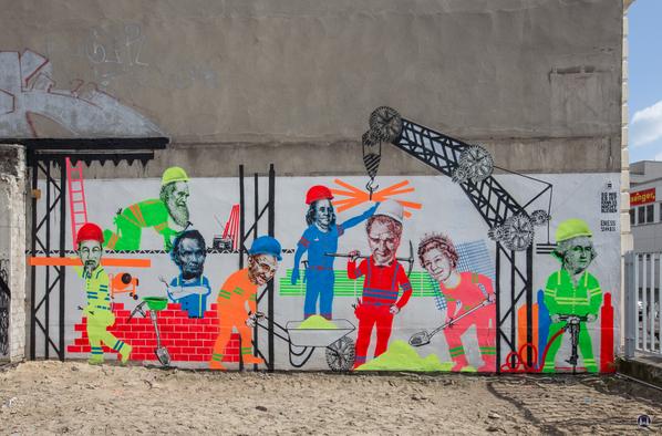 Berlin Lützowstraße 7 Graffiti EMESS