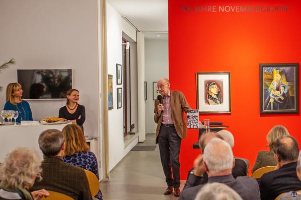 Bruno Taut. Präsentation in der Salongalerie Möwe. Edzard Reuter kannte Taut noch persönlich.