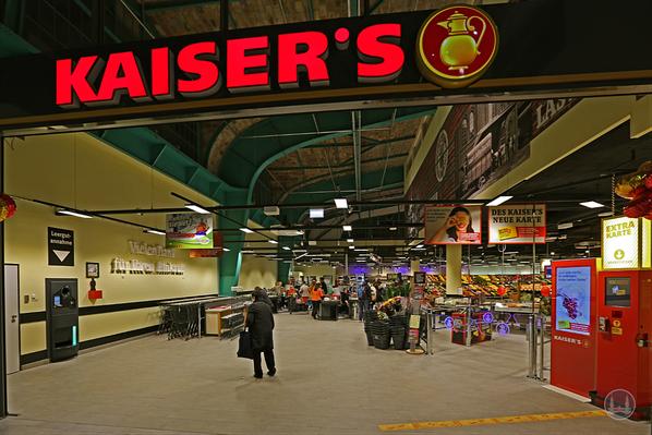 Kaiser's - Filiale in der Markthalle Tempelhof