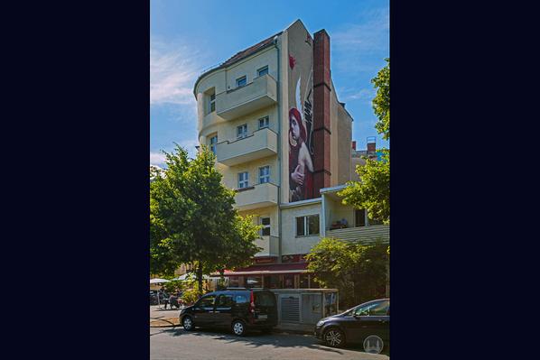 Gewerbehof Körtestraße 10 in Berlin - Kreuzberg. Eckhaus Freiligrathstraße.
