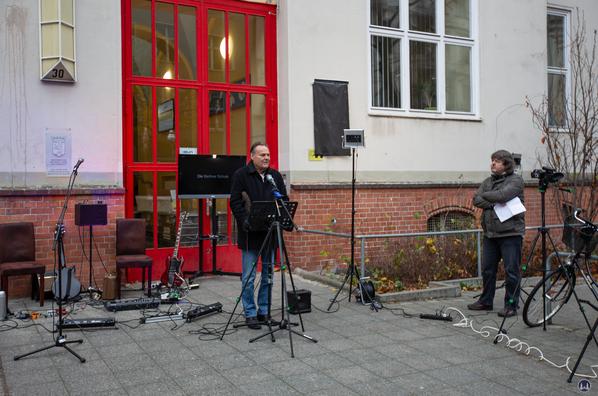 Autor Peter Schneider und Bernd Kistenmacher.
