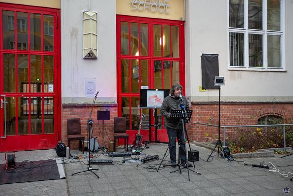 Der Musiker Bernd Kistenmacher.