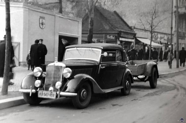 Das Auto von Herrn Willy Schmidt.