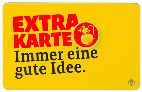 Kaiser's Extra Karte.
