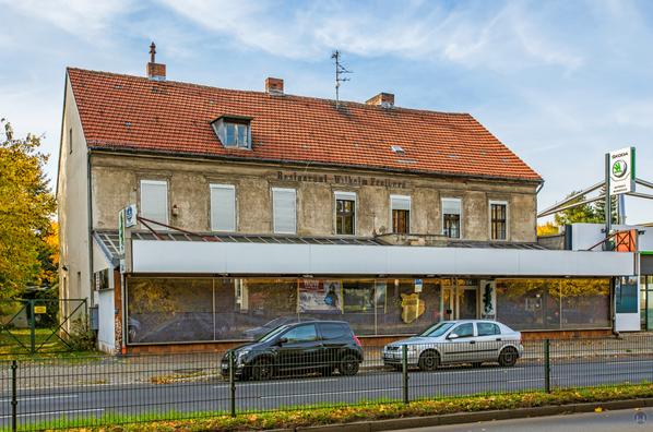 Ehemaliges Restaurant Wilhelm Freiberg Berlin - Mariendorf. Zweites Gebäude.