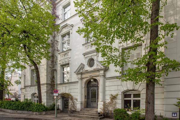Das Gebäude in der Bissingzeile.