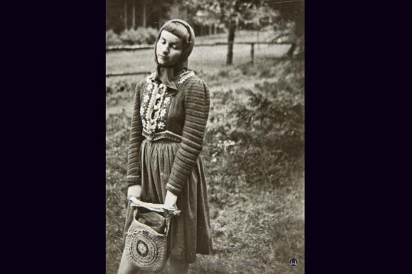 Lortzingclub in Berlin - Lichtenrade. Fotografie der Ruth Baumgarte 1945.