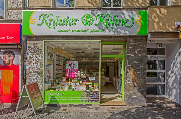 Kräuter - Kühne Berlin Filiale Kottbusser Damm Außenansicht