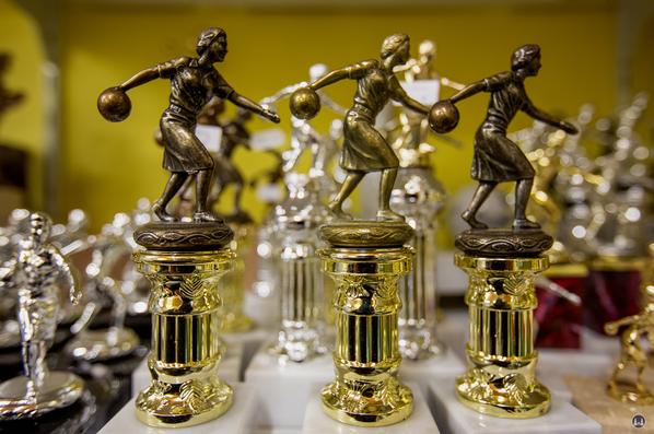 Bowling-Preis für Damen.