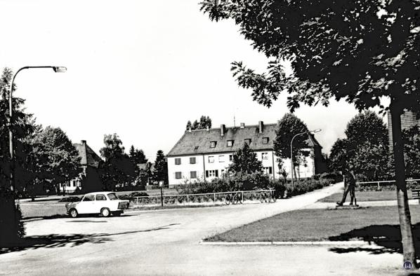 Karl-Marx-Platz in Blankenfelde.