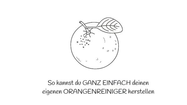 """myGREENhome Orangenessigreiniger Selbstgemacht nachhaltig orangen Apfelsinen Superfrucht Zitrusreiniger """"Zero Waste"""" Greenlifstyle selfmade"""
