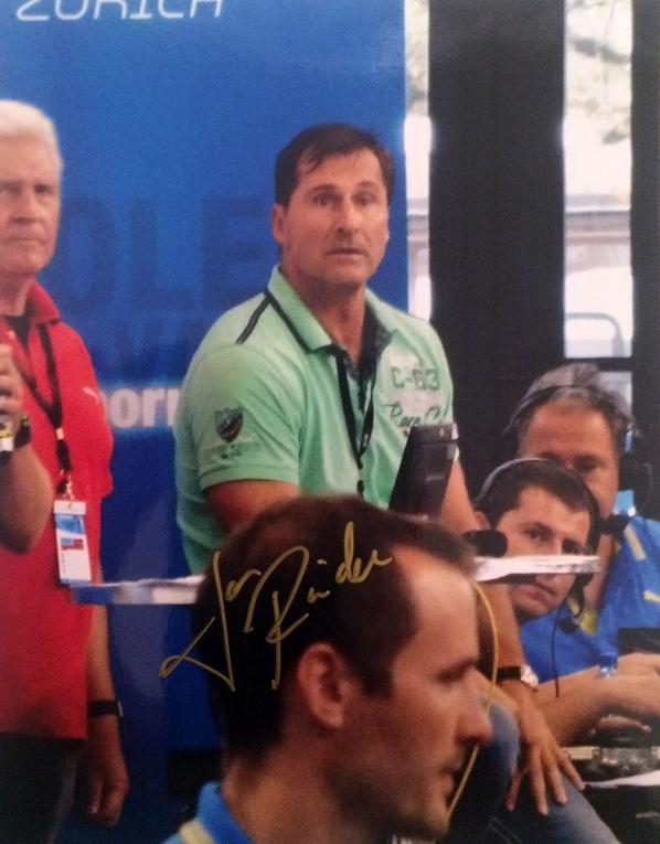 Lars Riedel Autograph
