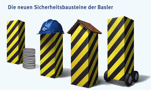 Sie fallen auf und prägen die neue Werbekampagne der Basler Versicherungen und der Baloise Bank SoBa.