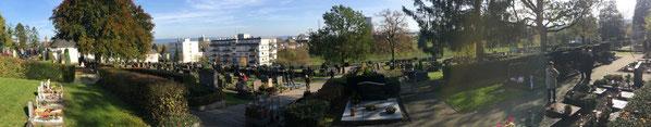 Weißenthurm, Allerheiligen, Gräbersegnung, Friedhof
