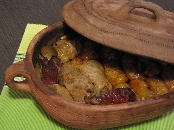 La sarma serbe en cocotte