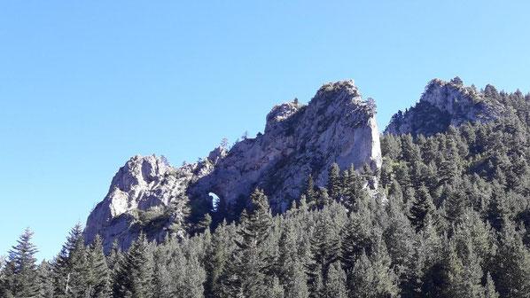 Ruta de senderisme a peu - Roca Foradada