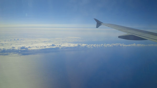 Kurz, bevor Wir das Festland von Island erreichten, noch ein letzter Blick in Richtung Festland Europa.
