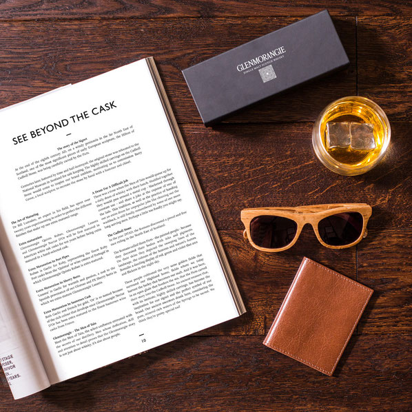 Glenmorangie Sunglasses Made of Whisky Barrels