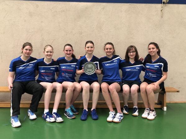 Die U18-Girls des TSV Schwarzenbek gefielen bei den Norddeutschen Mannschaftsmeisterschaften in Bremen durch Teamgeist und bestimmten auf dem Weg zur Titelverteidigung das Geschehen beinahe nach Belieben.