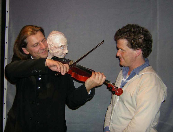 Wasilij Tarabuko und René Harder (Foto: Nikola Stadelmann)