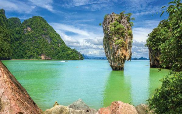 Thailand bei Yacht-Urlaub