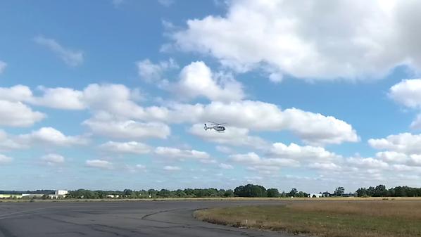 L'hélicoptère du SAMU de Rennes