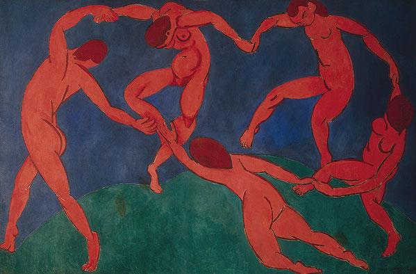 アンリ・マティス「ダンス」1910年