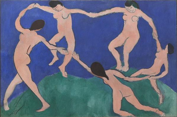アンリ・マティス「ダンス(Ⅰ)」1909年