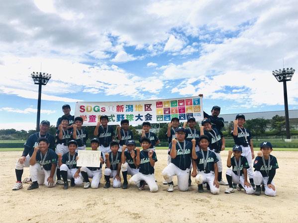 〈準優勝〉巻北ベースボールクラブ