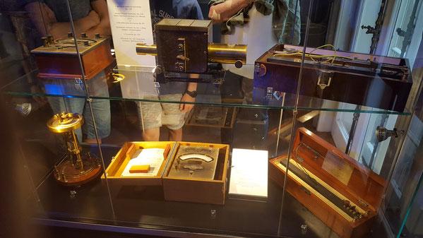 Приборы которые он использовал в работе, амперметры, ватт и ом метры