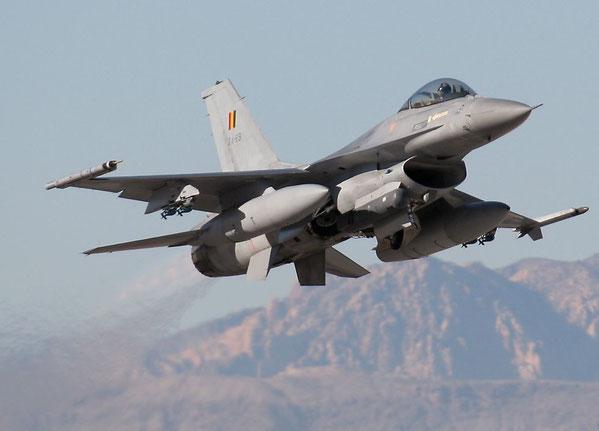 F-16AM della Componente aerea dell'armata belga - (Foto: USAF)