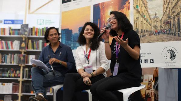 Airy Sindik, Cristina Bendek y Arelis Uribe