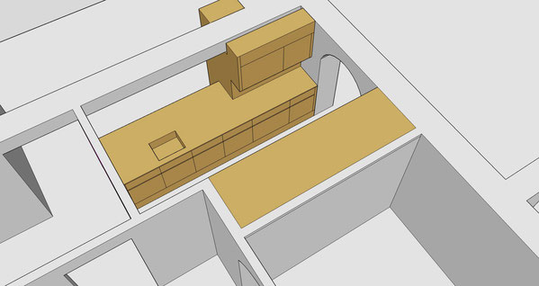 Umbau EFH Plattenweg, Schaffhausen I  3D Darstellung