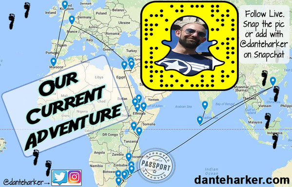 Our Current Adventure - Dante Harker