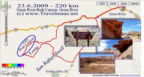 23.6.2009 Green River - Green River 220 km