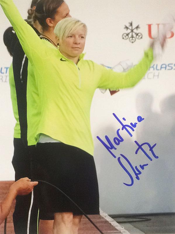 Martina Strutz Autograph