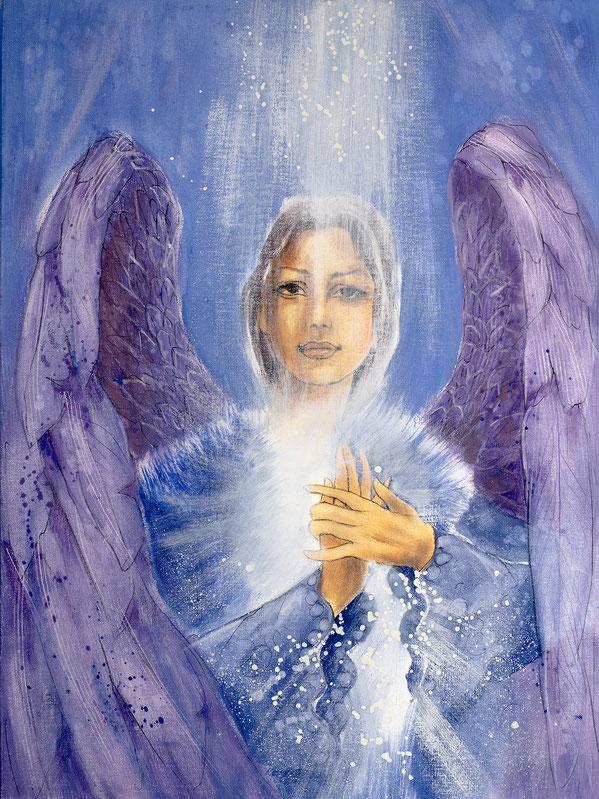 Engelbild von Jopie - Engelbild - Engel der Versöhnung / Glaube, Jana Haas, Engelkartendeck Ein Engel für dich Arkana Verlag