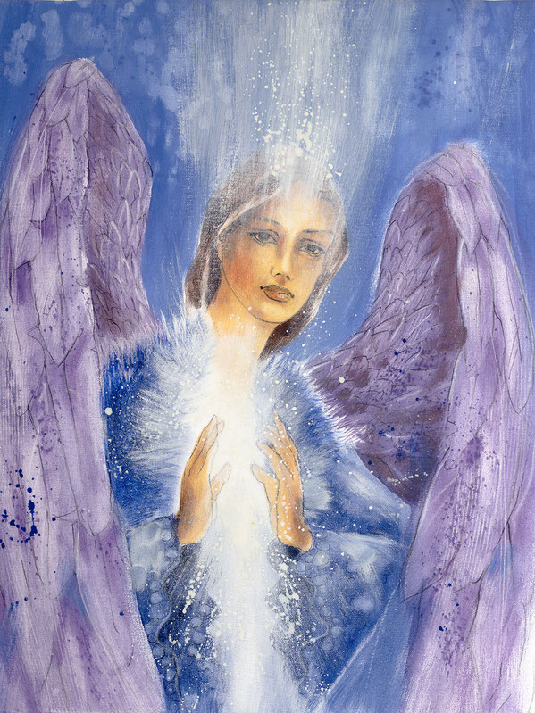 Engelbild von Jopie - Engel der Versöhnung / Verständnis, Jana Haas, Engelkartendeck Ein Engel für dich Arkana Verlag