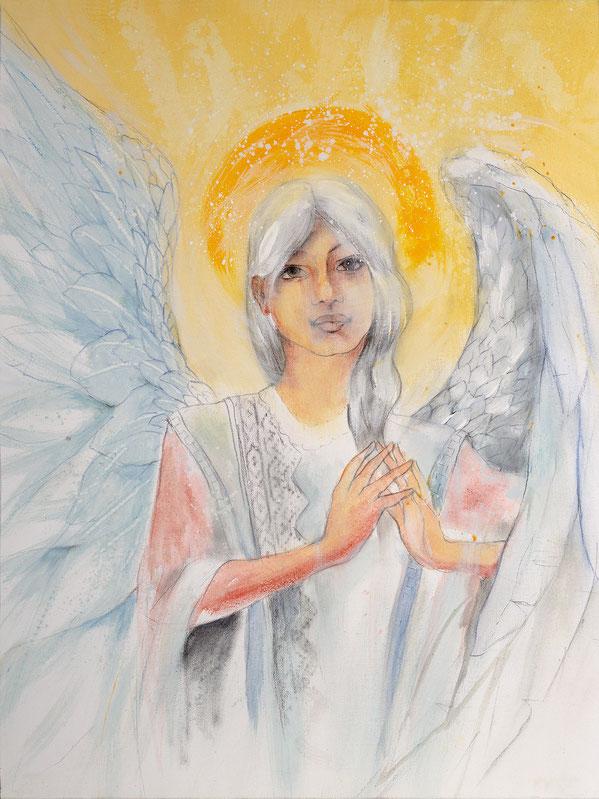 Engelbild - Engel der Stabilität / Fügungen, Jana Haas, Engelkartendeck Ein Engel für dich Arkana Verlag