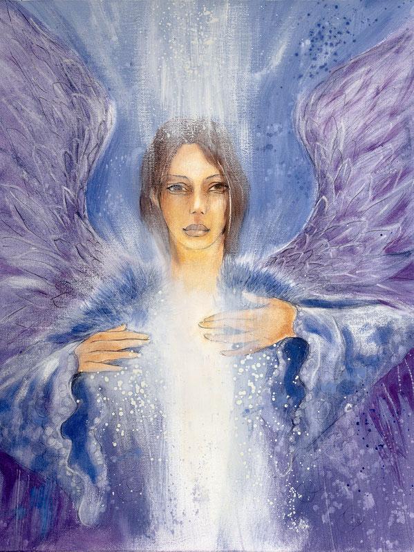 Engelbild von Jopie - Engel der Versöhnung / Vergebung, Jana Haas, Engelkartendeck Ein Engel für dich Arkana Verlag