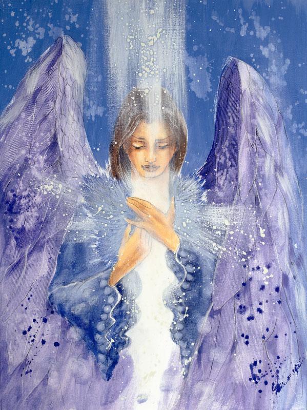 Engelbild von Jopie - Engelbild - Engel der Versöhnung / Schicksal, Jana Haas, Engelkartendeck Ein Engel für dich Arkana Verlag