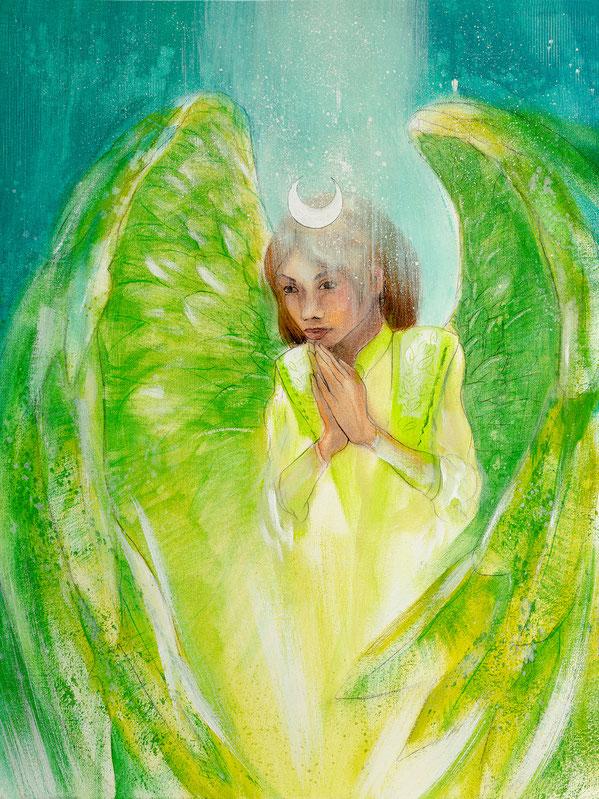 Engelbild Engel der Heilung / Zuversicht, Jana Haas, Engelkartendeck Ein Engel für dich Arkana Verlag