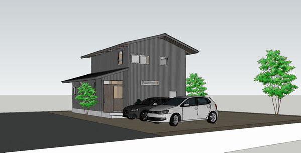 大町の家Ⅱ 大町市 新築工事 長野県松本市の建築家 建築設計事務所 現場監理 住宅設計