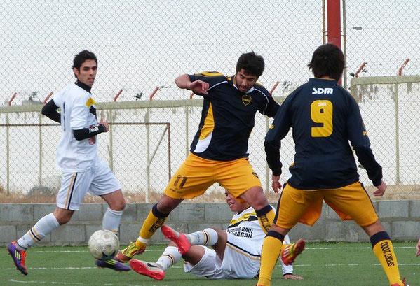Ferro le ganó a Boca RG y se quedó con la clasificación.
