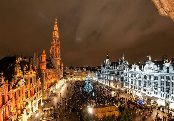 Best Christmas Markets in Europe - Copyright VisitBrussels.be