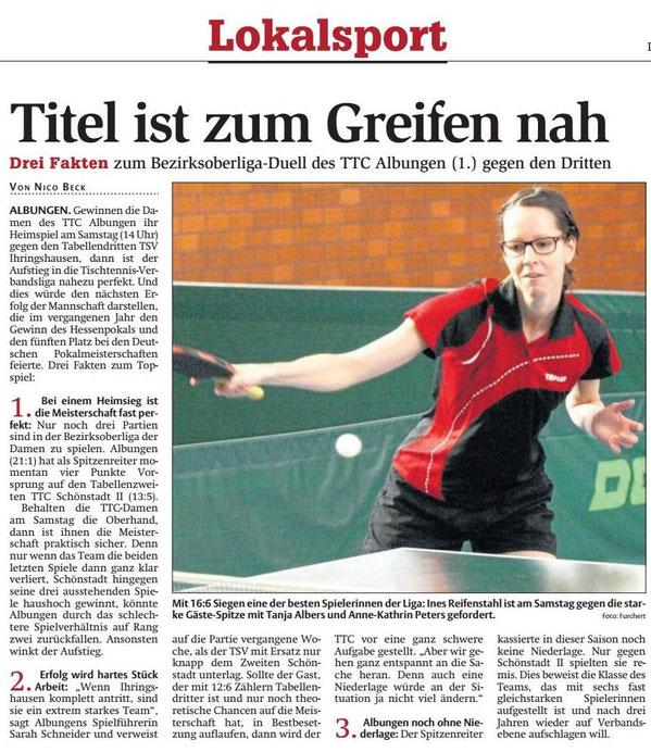 Werra-Rundschau vom 11.02.2016