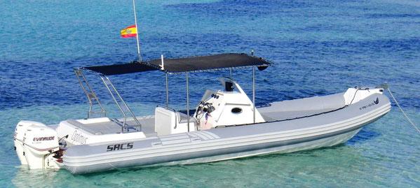 Alquiler Barcos Ibiza Sacs