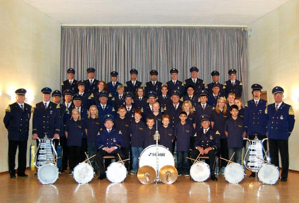 Das Tambourkorps Stemel im Jubiläumsjahr 2012